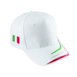 Cappello Baseball Italia Bianco