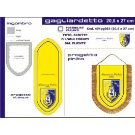 Gagliardetto Scudo Medio 20,5x27 cm