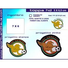 Progetto Toppa Ricamata HD 7 x 6 cm