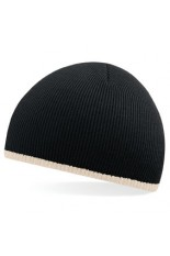 Cappello personalizzato Two-Tone Beanie Knitted Hat