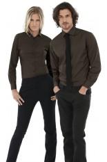 Camicia Strech donna maniche lunghe
