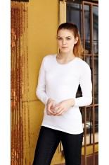 T-Shirt donna personalizzata maniche lunghe