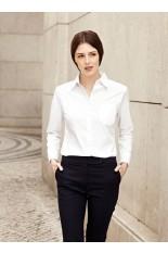 Camicia Popeline da donna manica lunga