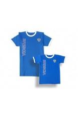 T-shirt Cotone bicolore