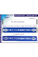 Sciarpa Jacquard Poliestere mod 3