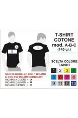 Progetto T-shirt Cotone