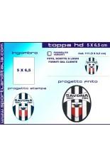 Progetto Toppa Ricamata HD 5 x 6,5 cm