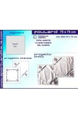 Progetto Foulard 75 cm X 75 cm