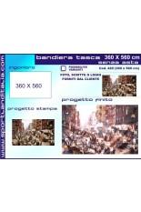 Progetto Bandiera 360 cm X 560 cm