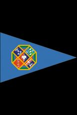 Guidone triangolare Regione Lazio varie misure e formati