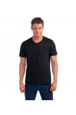 T-shirt a V uomo organic