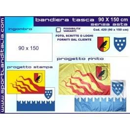 1 Flag project 90 cm X 120 cm
