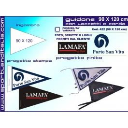 Triangular pennant Printed 90 X 120 cm