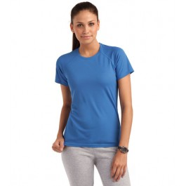 T-shirt girocollo sport donna