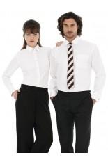 Camicia Popeline donna maniche lunghe