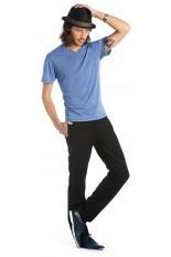 T-Shirt uomo collo a V maniche corte