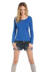 T-Shirt donna maniche lunge classic