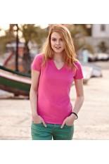 T-Shirt donna personalizzata collo a V