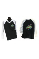 T-shirt long sleeve Raglan Two-tone Cotton
