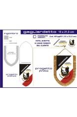 Small Shield pennant .50 cm 15 x 21