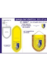 Medium Shield Pennant, 20 x 27 cm