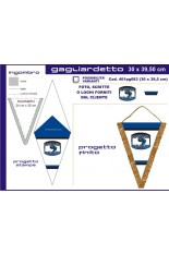 Triangolare1 Great pennant 30x38cm