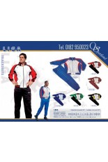 4 Polyester tracksuit