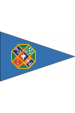 Triangular pennant Regione Lazio various sizes and formats