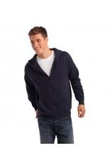 Hooded jacket uomo organic